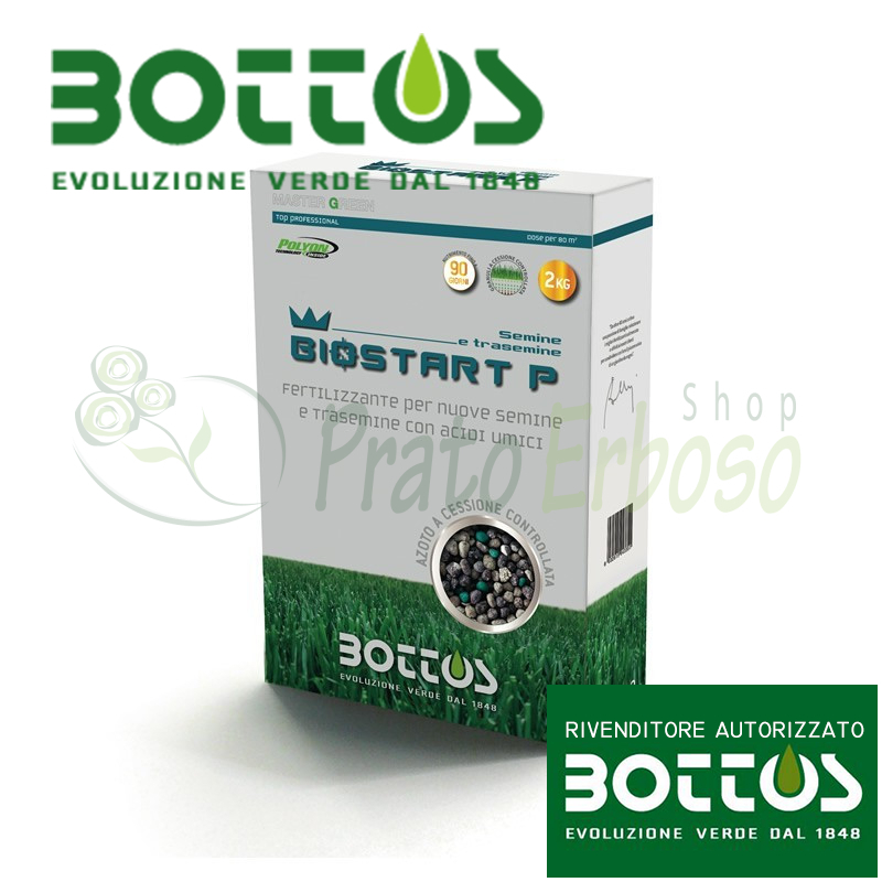 Bio Start 12-20-15 - Fertilizer for the lawn from 2 Kg