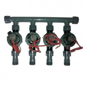 """coll-ez-flo-plus-tp2 - Manifold from 1"""" to 2 areas"""