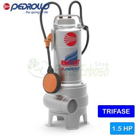 BC 15/50-ST - electric Pump for sewage water with dual-CHANNEL