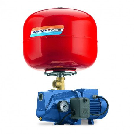JSWm 2CX - 24 SF - Group water pressure system with pump JSWm