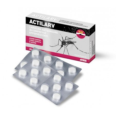ACTILARV - 100 effervescent tablets insecticide and larvicidal