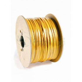Spool 762 meters of cable 1x1.5 mm2 black