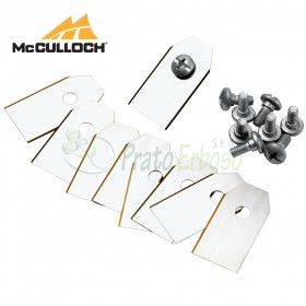 RB1 - Set of 9 blades and screws for robot mower