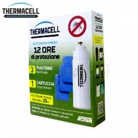 12 hour charge for ThermaCELL devices